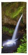 Ponytail Falls - Columbia River Gorge - Oregon Beach Towel