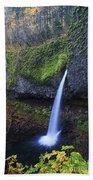 Ponytail Falls Beach Towel