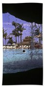 Pool And Palms Beach Towel