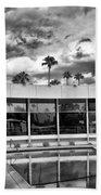 Pool Storm Palm Springs Beach Towel