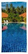 Pool Time Beach Towel
