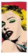 Pop Art Beach Towel