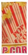 Pop Corn Beach Towel