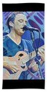 The Dave Matthews Band Op Art Style Beach Towel