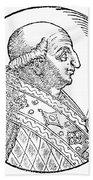 Pope Gregory II (d Beach Towel