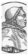Pope Innocent Viii (1432-1492) Beach Towel