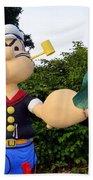 Popeye The Sailor Man Beach Towel