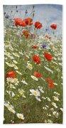 Poppies Et Al Iv Beach Towel