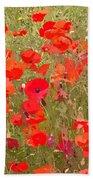 Poppies Vii Beach Towel
