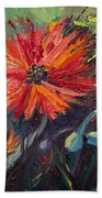Poppin' Poppies Beach Towel