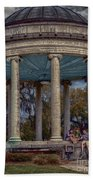 Popps Bandstand In City Park Nola Beach Towel