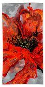 Poppy 41 Beach Towel