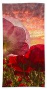 Poppy Sunrise Beach Sheet