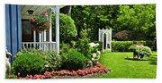 Porch And Garden Beach Towel