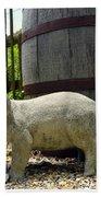Pork Barrel Beach Towel