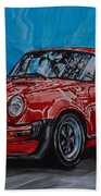 Porsche 911  Beach Towel
