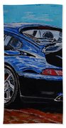 Porsche 911 Turbo  Beach Towel