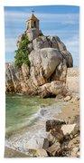 Port Blanc Pevenan Brittany France Beach Towel