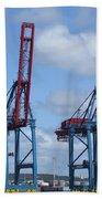 port of Gothenburg Beach Towel