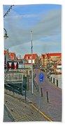 Port Of Volendam Beach Towel