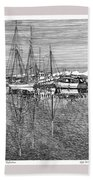 Reflections Of Port Orchard Washington Beach Towel
