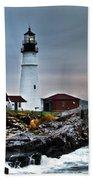 Portland Head Lighthouse 1 Beach Sheet