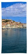 Portoferraio - View From The Sea Beach Towel
