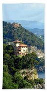 Portofino Coastline Beach Towel