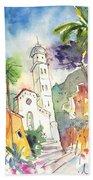 Portofino In Italy 01 Beach Towel