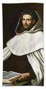 Portrait Of A Carmelite Beach Towel