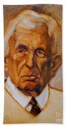 Portrait Of An Older Man Beach Towel
