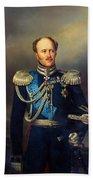 Portrait Of Count Alexander Benkendorff Beach Towel