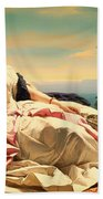 Portrait Of Leonilla Beach Towel