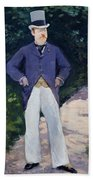 Portrait Of Monsieur Brun Beach Towel