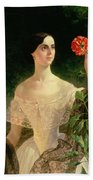Portrait Of Sofia Andreyevna Shuvalova Beach Towel