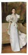 Portrait Of The Countess Of Clary Aldringen Beach Towel by John Singer Sargent