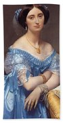 Portrait Of The Princesse De Broglie Beach Towel