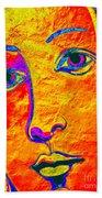 Portrait Of Venus Beach Towel