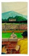 Portsmouth Athletics Vs Muncie Reds 1948 Beach Towel