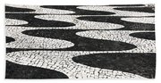 Portuguese Pavement Beach Towel