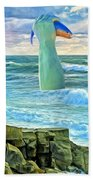 Poseidon Beach Towel