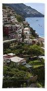 Positano Overview Beach Towel