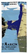 Poster National Park Beach Sheet