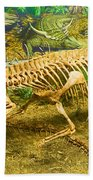 Postosuchus Fossil Beach Towel