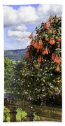 Powis Castle Terrace Beach Towel