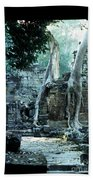 Preah Khan Temple 01 Beach Towel