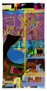 precious is man for he is created in the Divine Image 8 Beach Towel by David Baruch Wolk