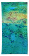 Prescott Blue Abstract Beach Towel