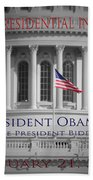 President Obama Inauguration Beach Towel