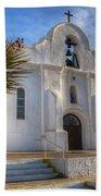 Presidio Chapel San Elizario Texas Beach Towel